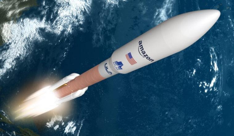 Amazon заключает контракт на девять миссий Atlas 5 для своих широкополосных спутников Kuiper