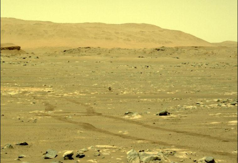 Для полёта марсианскому вертолёту нужно обновление софта