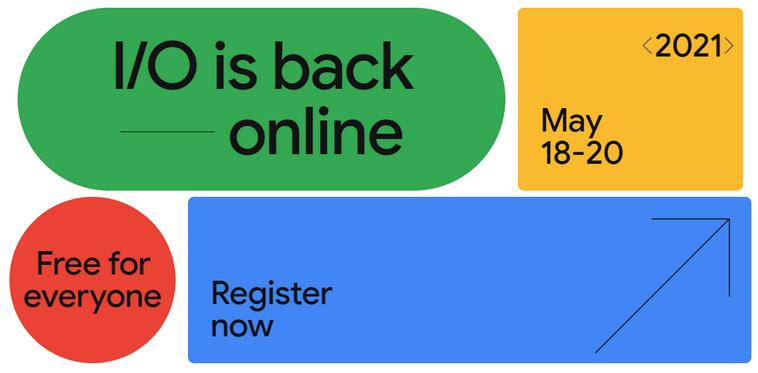 Google I/O пройдет в онлайне с 18 по 20 мая и будет бесплатной