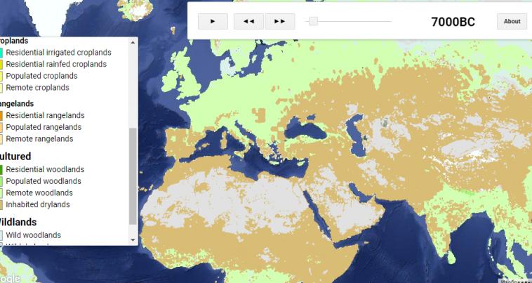 Люди влияют на экологию Земли уже 12 000 лет
