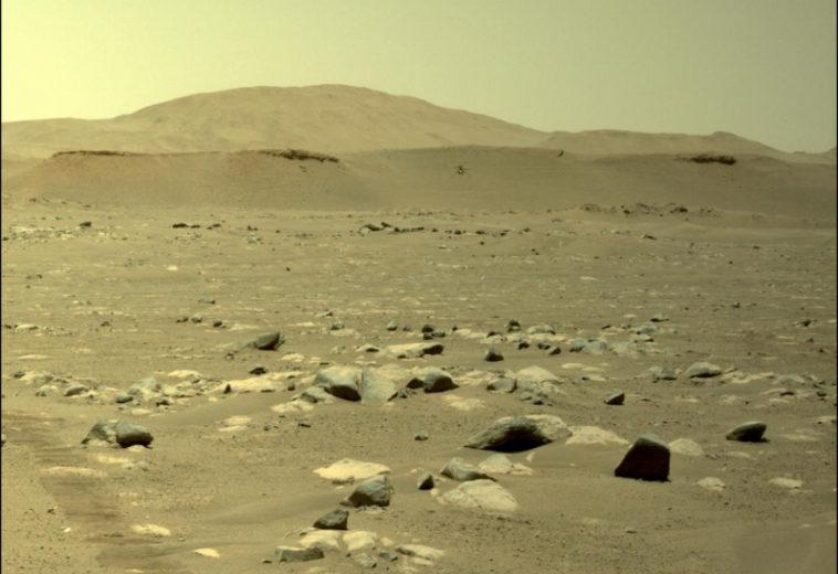 Марсианский вертолет «Индженьюити» успешно совершил третий полет