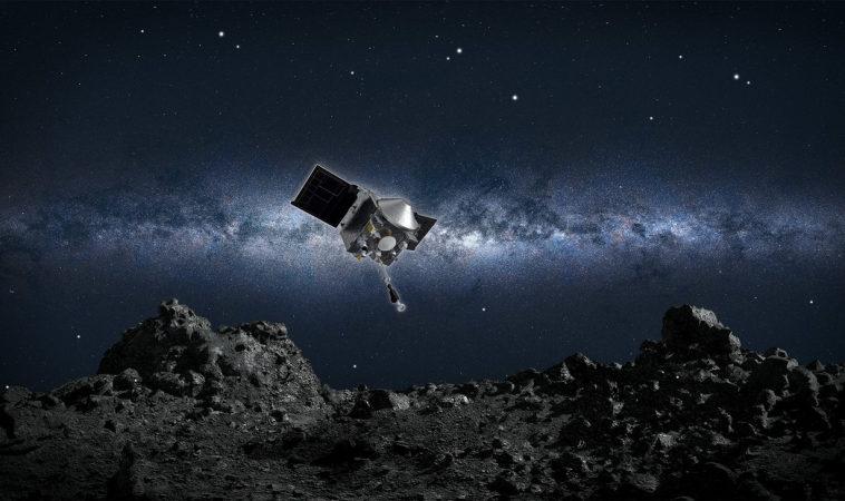 Межпланетная станция OSIRIS-REx совершила финальный облет астероида Бенну
