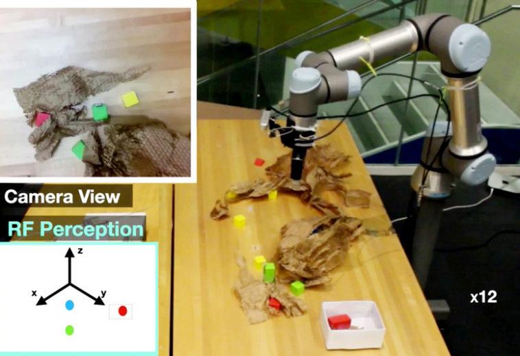 МТИ показал робота, который находит скрытые объекты с помощью радиоволн