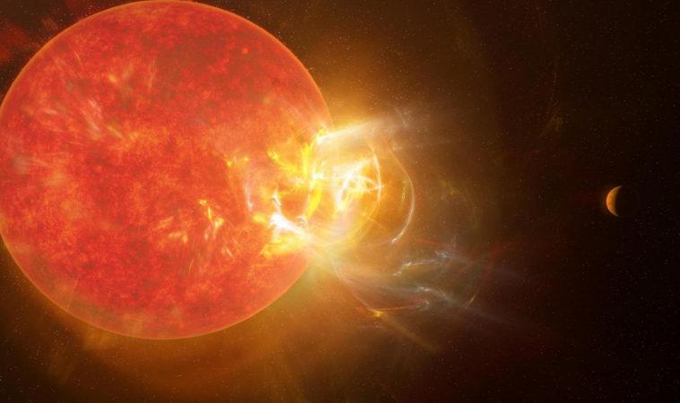 На ближайшей к нам звезде зафиксирована мощнейшая вспышка из когда-либо виденных