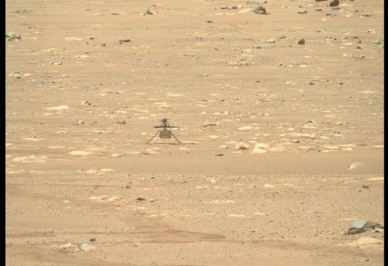 НАСА объявило дату первого полета марсианского вертолета «Индженьюити»