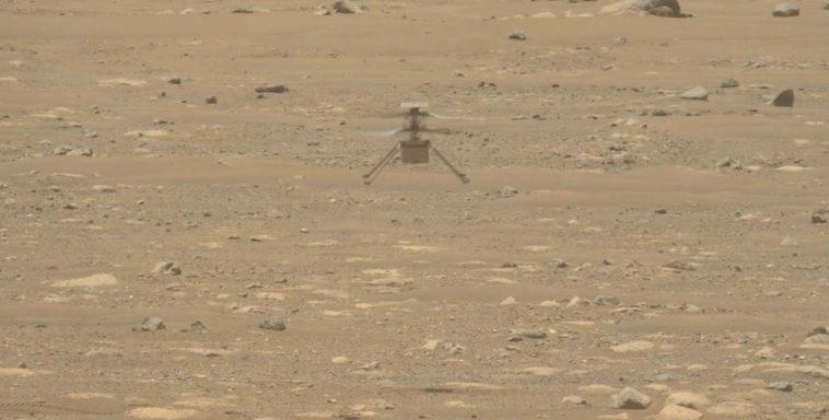 НАСА подробно показало первый взлет и посадку вертолета «Индженьюити», его второй полет запланирован на сегодня