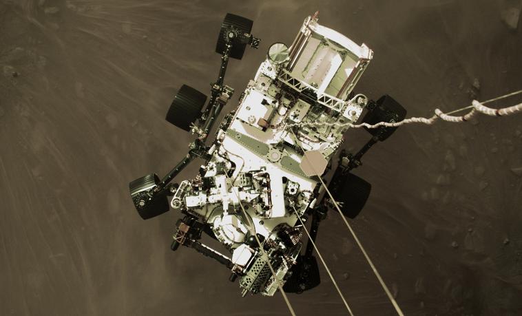 НАСА заявило, что марсоход «Персеверанс» впервые извлек кислород из атмосферы Марса