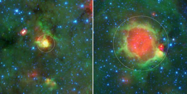 Непрофессиональные астрономы открыли новую особенность процесса формирования звёзд