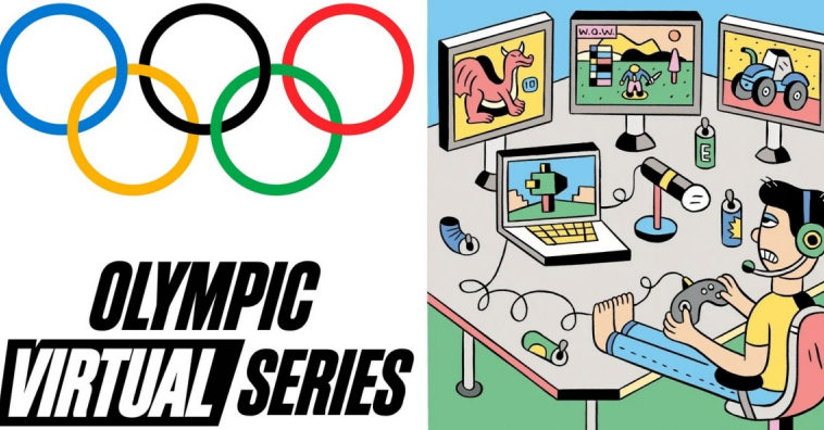 Олимпийский комитет проведет первую виртуальную серию игр