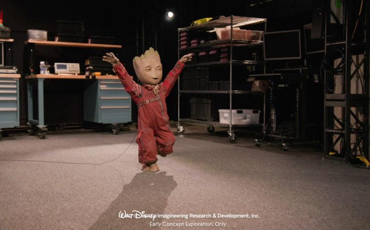 Студия «Дисней» воссоздала ребенка-Грута в виде ходящего робота