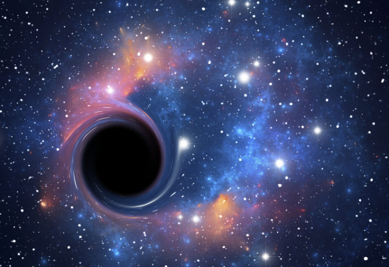 Темный «напарник» красного гиганта V723 Mon — вероятно, ближайшая к Земле черная дыра