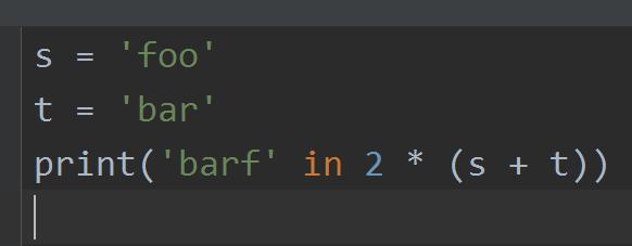Тест на знание строк и символьного типа (в Python)