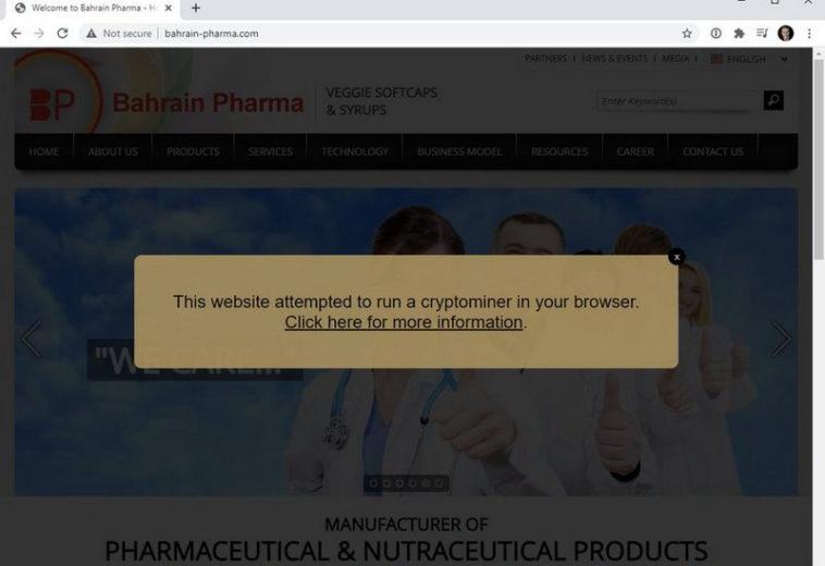 Трой Хант разместил на доменах Coinhive предупреждения о взломанных сайтах