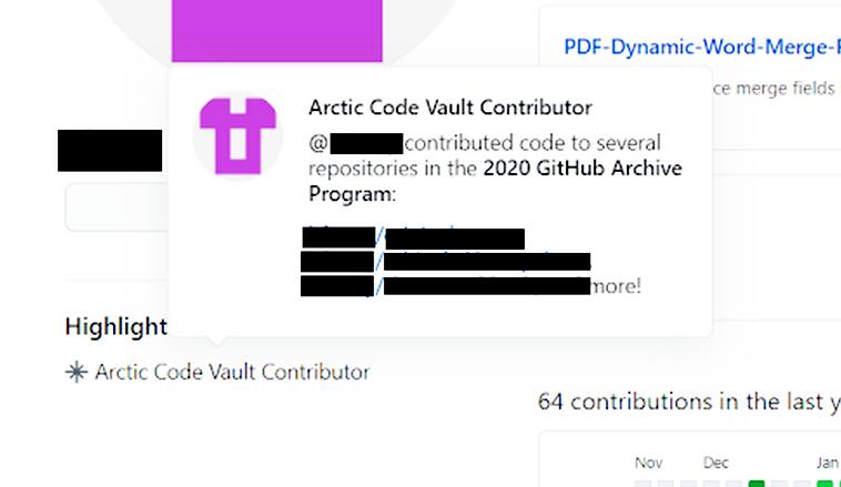 В проект GitHub по хранению кода в Арктике случайно попала утечка медицинских данных