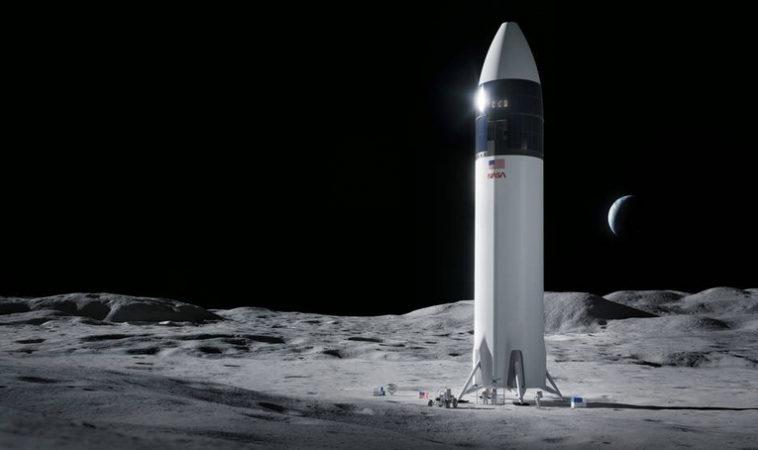 В развитие программы Artemis, NASA выбирает SpaceX для высадки американцев на Луну
