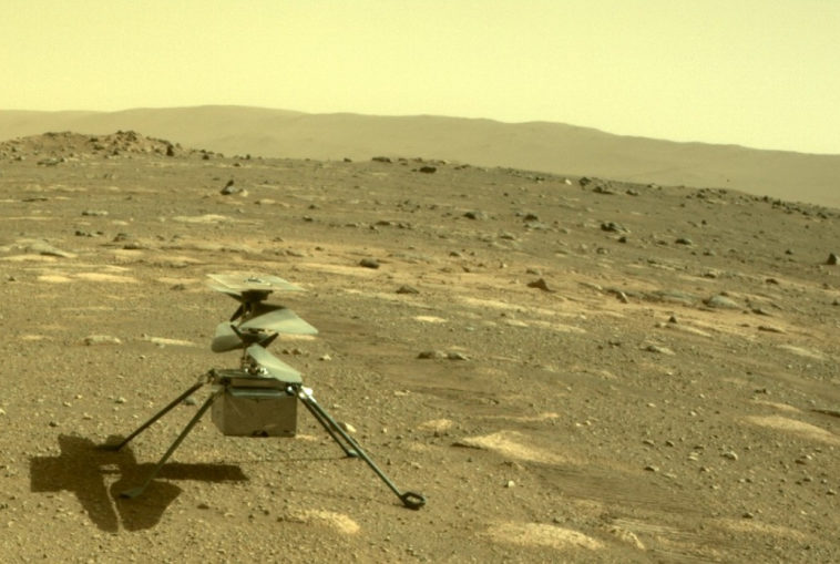Вертолет «Индженьюити» успешно пережил первую марсианскую ночь в автономном режиме