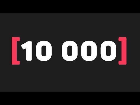 Нас 10 000 на itProger 🥳 Поздравления и крутая акция!