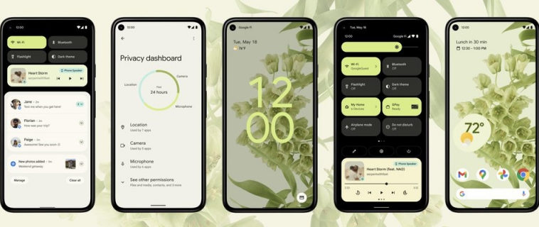 Android 12: что нового