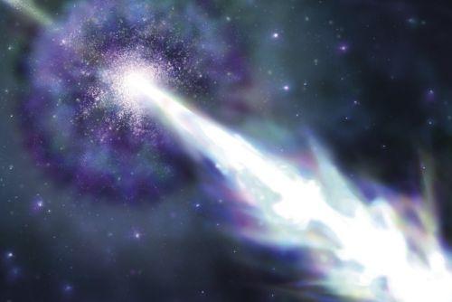 Астрофизики предполагают, что сверхмощную вспышку гамма-излучения породила энергия вращения чёрной дыры