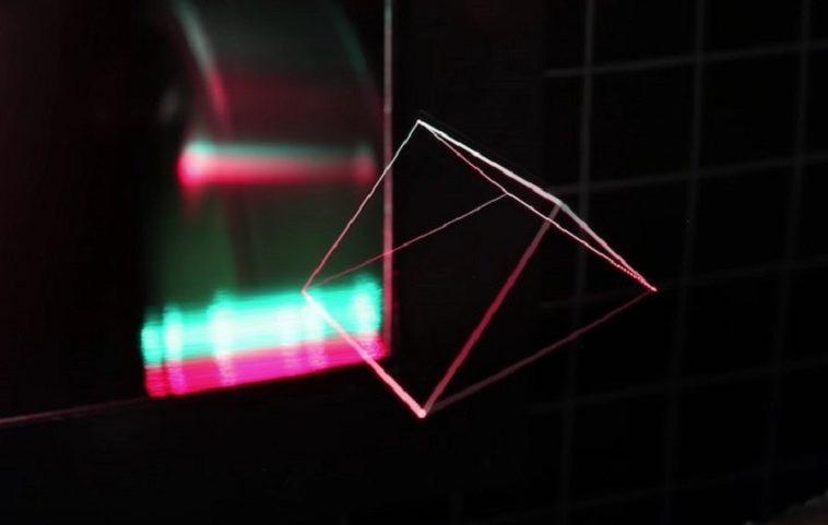 Эксперты по голограммам научились создавать в воздухе движущиеся изображения