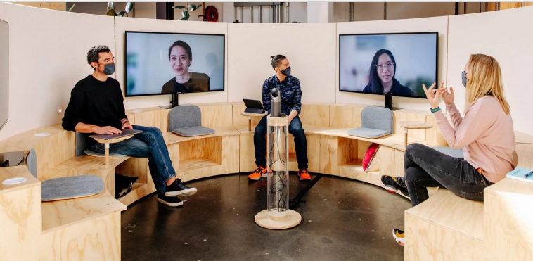 Google трансформирует офисы для сотрудников, которые возвращаются туда после многих месяцев удаленной работы