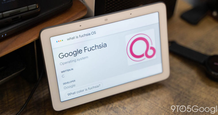 Google запускает ОС Fuchsia