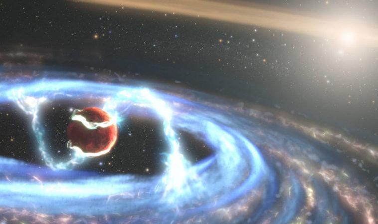 «Хаббл» наблюдает за ростом гигантской планеты