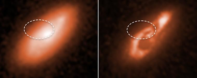 «Хаббл» отследил происхождение пяти быстрых радиовсплесков