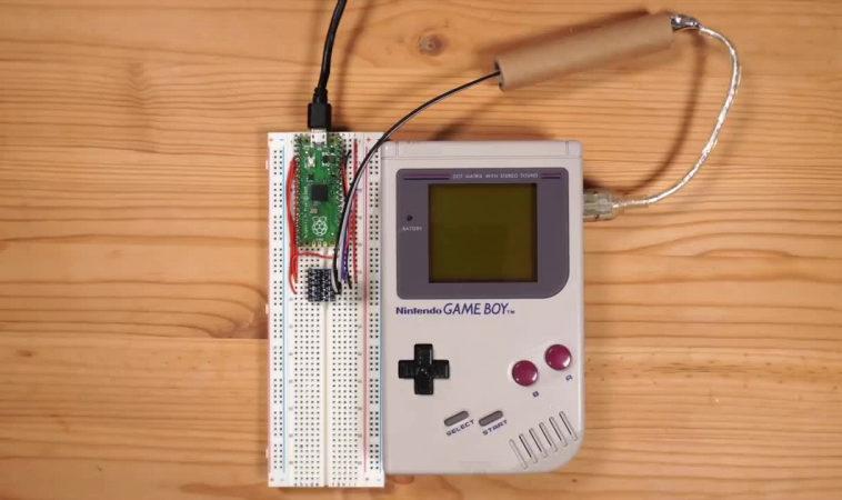 Хакер создал сетевой адаптер для оригинального Game Boy