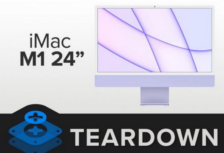 iFixit оценил ремонтопригодность iMac с чипом M1 на 2 из 10