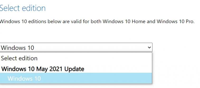 Microsoft начала раскатывать апгрейд Windows 10 21H1