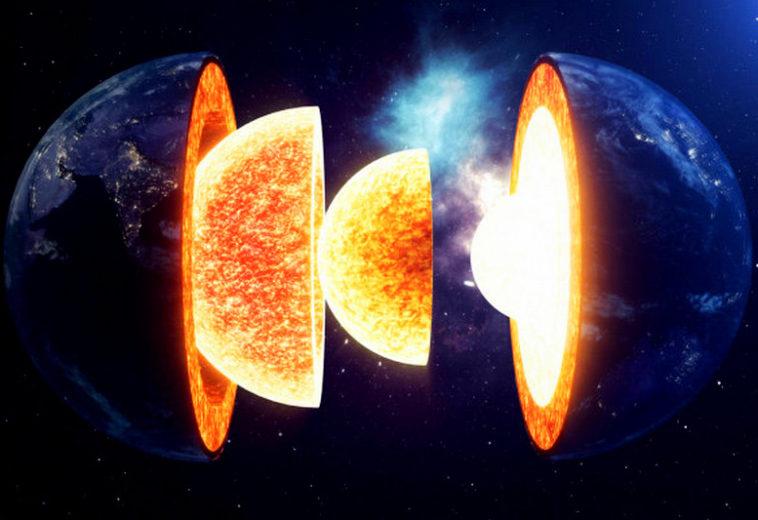 Наличие солнечных газов внутри метеорита подтверждает их присутствие в ядре Земли