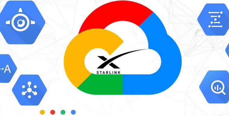 Подразделение Google Cloud заключило контракт со SpaceX на использование Starlink