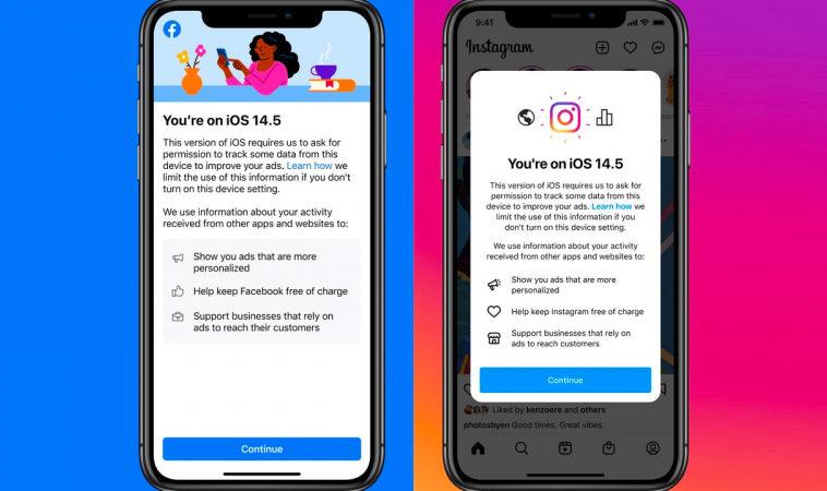 Приложения Facebook и Instagram на iOS 14.5 убеждают пользователей, что слежка — это полезно