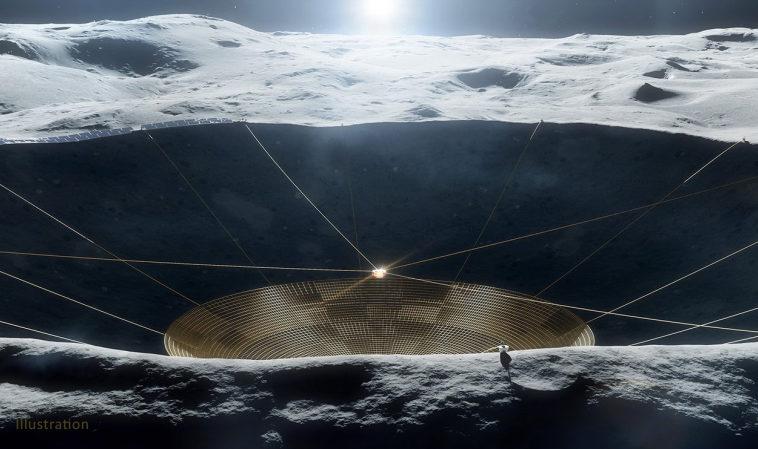 Проект НАСА по строительству радиотелескопа на Луне получил еще полмиллиона