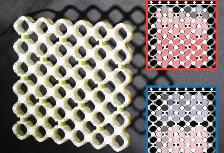Разработан метаматериал, меняющий свойства в зависимости от скорости сжатия