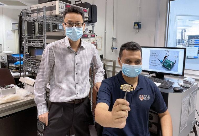 Сингапурские инженеры с помощью сигнала Wi-Fi получили энергию для микроэлектроники