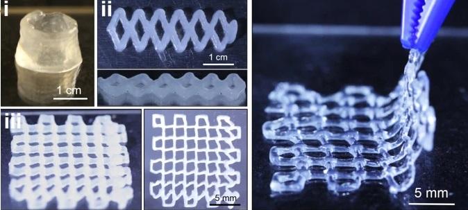 Создан пригодный для 3D-печати гель