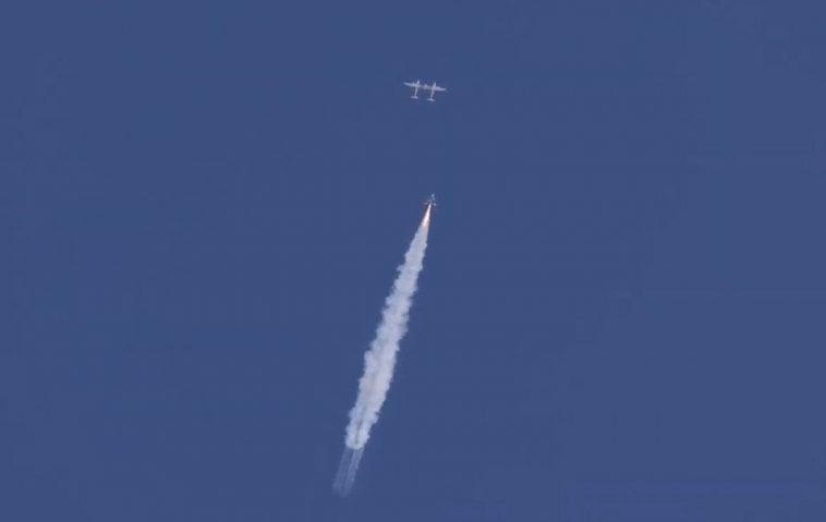 Unity от Virgin Galactic слетал в космос третий раз
