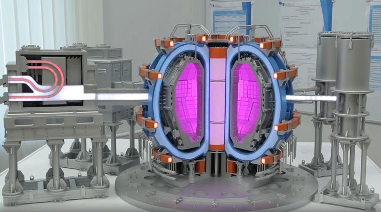 В Курчатовском институте запустили новую экспериментальную модель реактора токамак Т-15МД