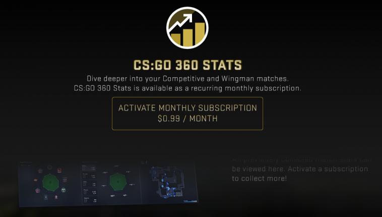 Valve запускает платный сервис расширенной статистики для Counter Strike