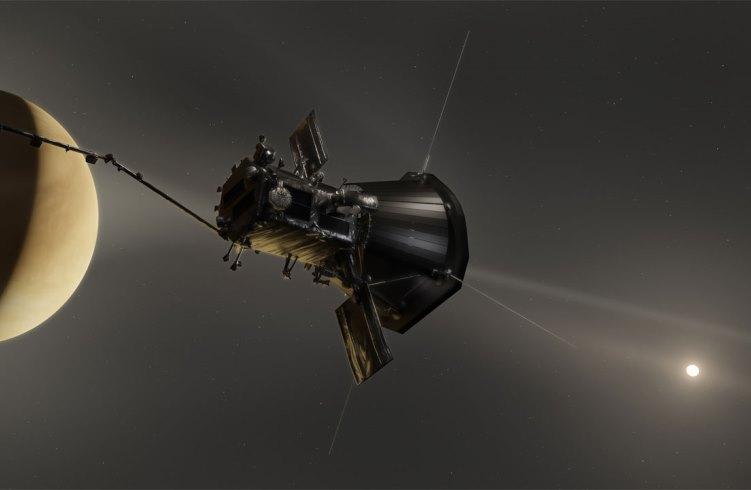Зонду Parker Solar Probe удалось зафиксировать радиоизлучение в атмосфере Венеры