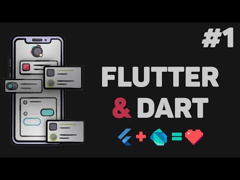 Уроки Flutter и Dart с нуля / #1 – Разработка мобильных приложений для начинающих