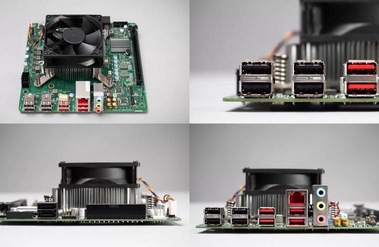 AMD выпустила бракованные APU из Xbox Series X в виде набора 4700S без встроенной графики