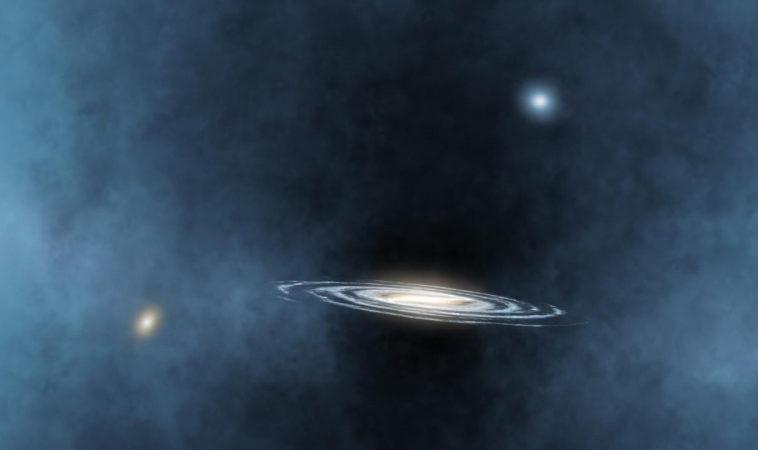 Астрофизики выяснили, что чёрная дыра в центре галактики влияет на формирование соседних галактик