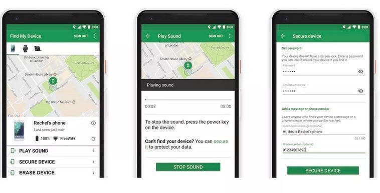 Google разрабатывает поиск утерянных Android-смартфонов по аналогии с Find My