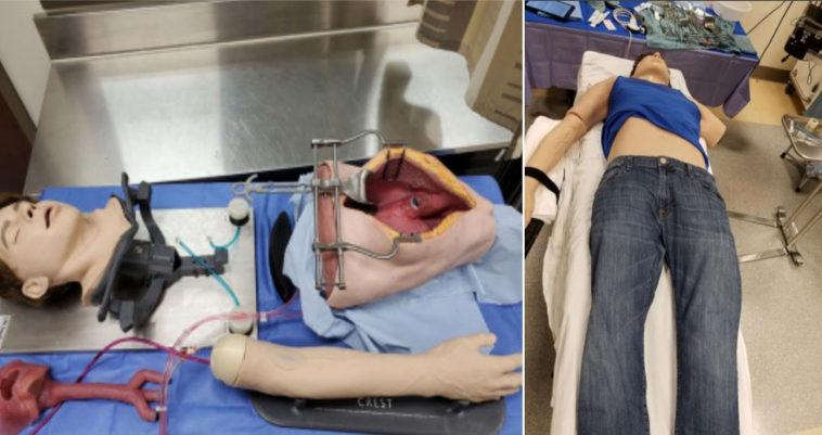 Исследователи добавили к хирургическому симулятору реалистичный манекен