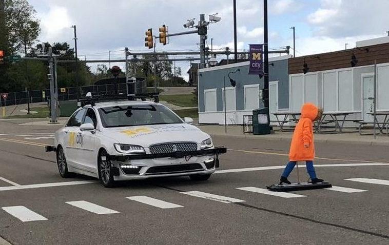 Мичиганский университет показал город для тестирования робомобилей