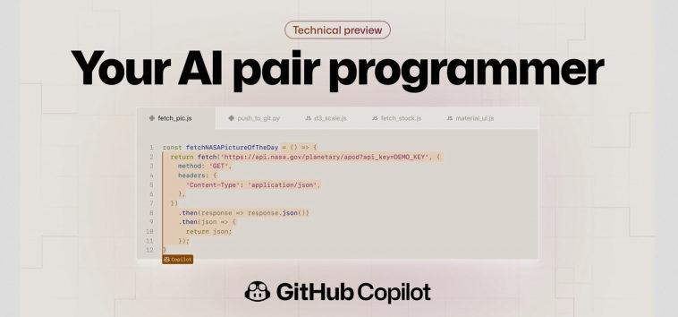 Microsoft и GitHub представили нейросетевого помощника программиста Copilot