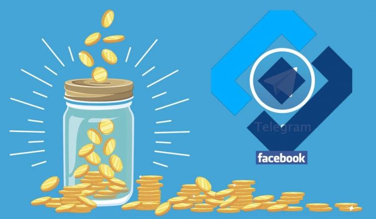 Московский суд оштрафовал Telegram на 10 млн рублей и Facebook на 17 млн рублей